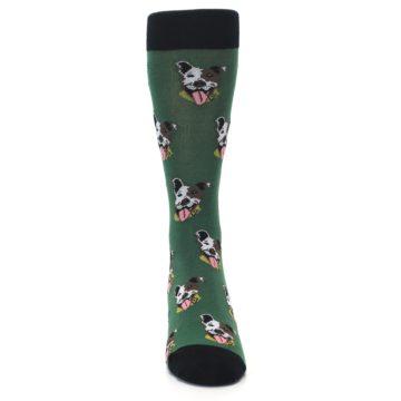 Image of Go Fetch Dog Men's Dress Socks (front-04)