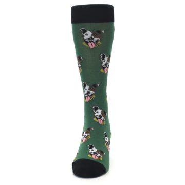 Image of Go Fetch Dog Men's Dress Socks (front-05)