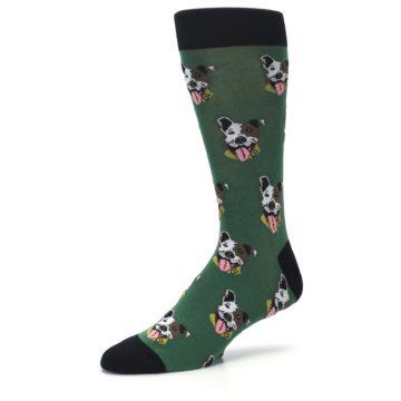Image of Go Fetch Dog Men's Dress Socks (side-2-09)