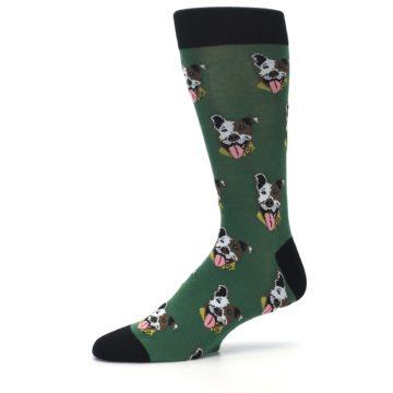 Image of Go Fetch Dog Men's Dress Socks (side-2-10)