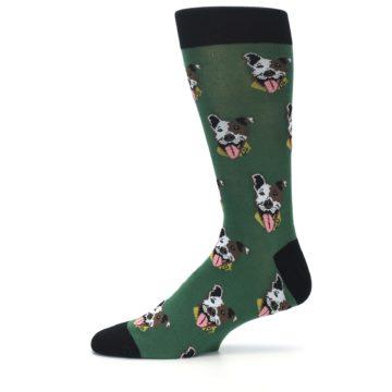 Image of Go Fetch Dog Men's Dress Socks (side-2-11)