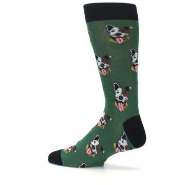 Image of Go Fetch Dog Men's Dress Socks (side-2-13)