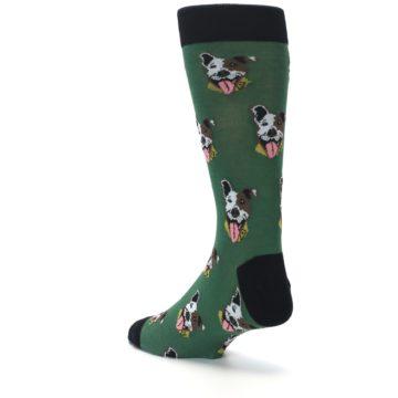 Image of Go Fetch Dog Men's Dress Socks (side-2-back-15)