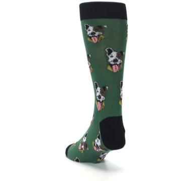 Image of Go Fetch Dog Men's Dress Socks (side-2-back-16)