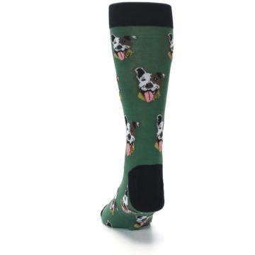Image of Go Fetch Dog Men's Dress Socks (back-17)
