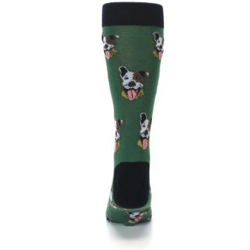 Image of Go Fetch Dog Men's Dress Socks (back-18)