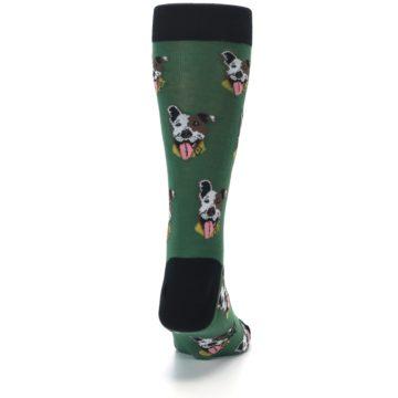 Image of Go Fetch Dog Men's Dress Socks (back-19)