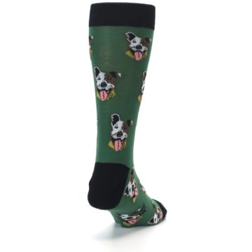 Image of Go Fetch Dog Men's Dress Socks (side-1-back-20)