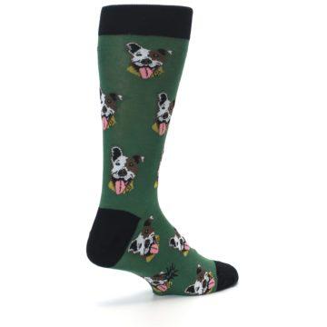 Image of Go Fetch Dog Men's Dress Socks (side-1-back-22)