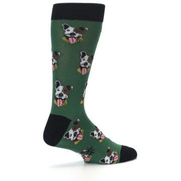Image of Go Fetch Dog Men's Dress Socks (side-1-23)