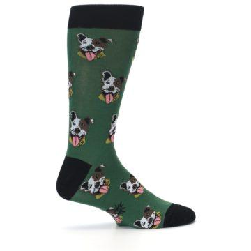 Image of Go Fetch Dog Men's Dress Socks (side-1-24)