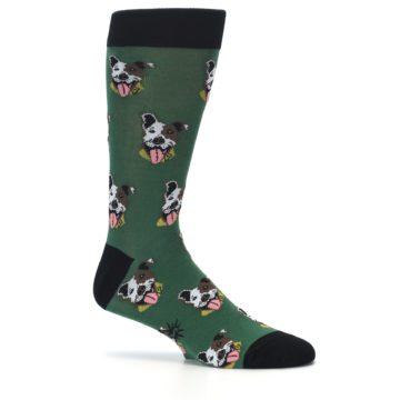 Image of Go Fetch Dog Men's Dress Socks (side-1-25)