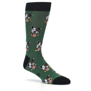 Image of Go Fetch Dog Men's Dress Socks (side-1-26)