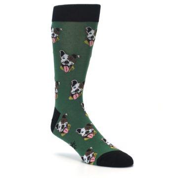 Image of Go Fetch Dog Men's Dress Socks (side-1-27)