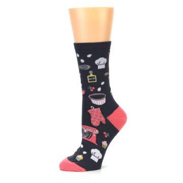 Image of Grey Kitchen Baking Women's Dress Sock (side-2-10)
