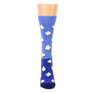 Image of Blue Sky Clouds Women's Dress Socks (front-05)