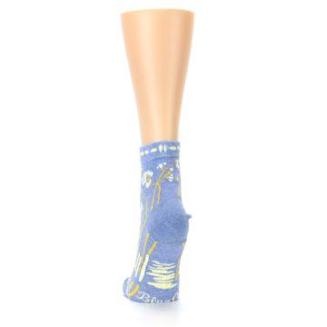 Image of Blue Whole Lotta Lovely Women's Ankle Socks (back-18)