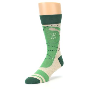 Image of Green Golf Men's Dress Socks (side-2-front-08)