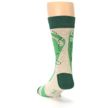 Image of Green Golf Men's Dress Socks (side-2-back-16)