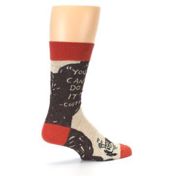 Image of Brown Coffee Men's Dress Socks (side-1-23)