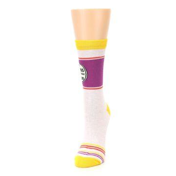 Image of Lilac Duchess of Sassytown Women's Dress Socks (side-2-front-07)
