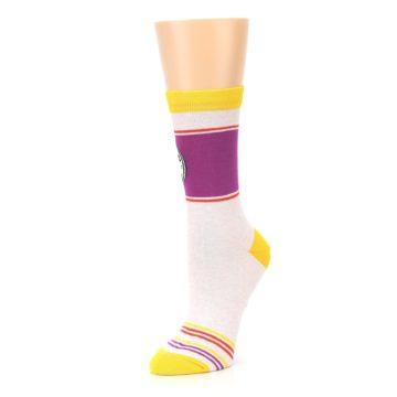 Image of Lilac Duchess of Sassytown Women's Dress Socks (side-2-09)