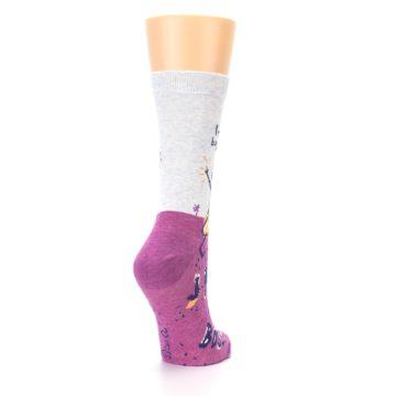 Image of Pink I'm Not Bossy Women's Dress Socks (side-1-back-21)