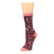 Image of Maroon Cats Women's Dress Socks (side-2-09)