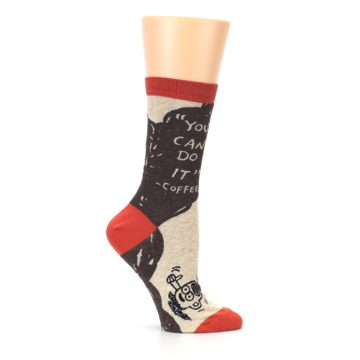 Image of Brown Coffee Women's Dress Socks (side-1-25)