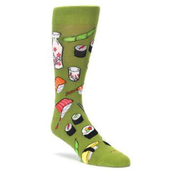 Mens novelty sushimi dress socks by socksmith