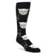 Image of Black and White Cats Men's Dress Socks (side-1-front-01)