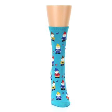 Image of Blue Gnomes Women's Dress Socks (front-04)