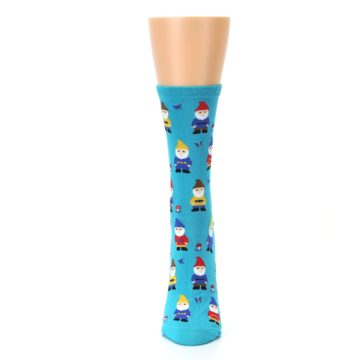 Image of Blue Gnomes Women's Dress Socks (front-05)