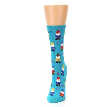 Image of Blue Gnomes Women's Dress Socks (side-2-front-06)