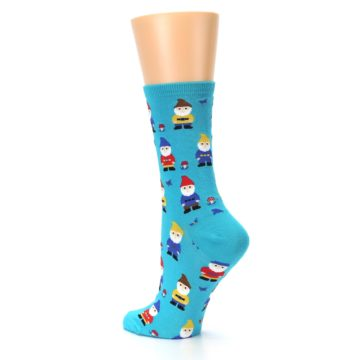 Image of Blue Gnomes Women's Dress Socks (side-2-back-14)