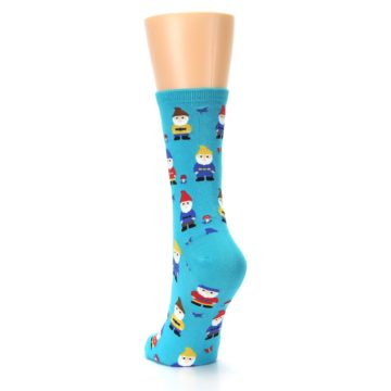 Image of Blue Gnomes Women's Dress Socks (side-2-back-16)