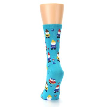 Image of Blue Gnomes Women's Dress Socks (back-17)