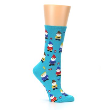 Image of Blue Gnomes Women's Dress Socks (side-1-25)