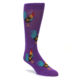 Men's proud rooster casual dress sock by Good Luck Sock