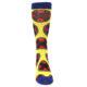 Image of Yellow Red Blue X-Men AOP Men's Casual Socks (front-04)