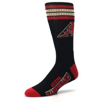 Image of Arizona Diamondbacks Men's Athletic Crew Socks (side-2-09)