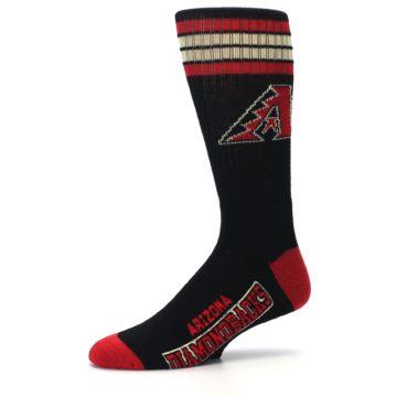 Image of Arizona Diamondbacks Men's Athletic Crew Socks (side-2-10)