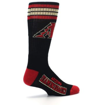 Image of Arizona Diamondbacks Men's Athletic Crew Socks (side-1-23)