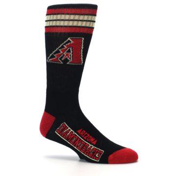 Image of Arizona Diamondbacks Men's Athletic Crew Socks (side-1-25)