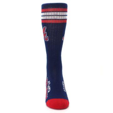 Image of Atlanta Braves Men's Athletic Crew Socks (front-04)