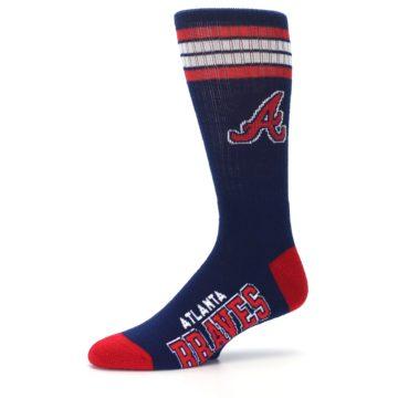Image of Atlanta Braves Men's Athletic Crew Socks (side-2-10)