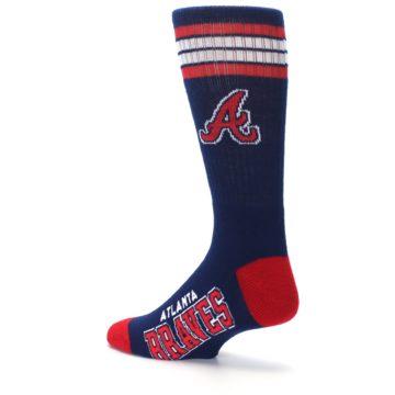 Image of Atlanta Braves Men's Athletic Crew Socks (side-2-back-14)
