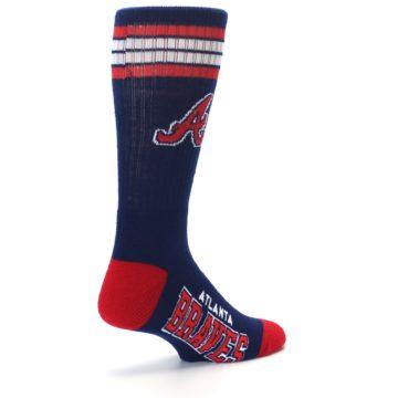 Image of Atlanta Braves Men's Athletic Crew Socks (side-1-back-22)
