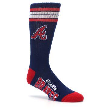Image of Atlanta Braves Men's Athletic Crew Socks (side-1-26)