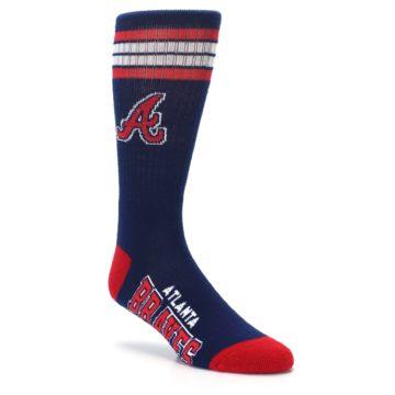 Image of Atlanta Braves Men's Athletic Crew Socks (side-1-27)